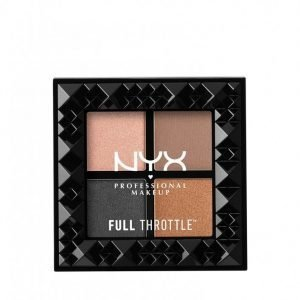Nyx Professional Makeup Full Throttle Shadow Palette Luomiväri Take Over Control