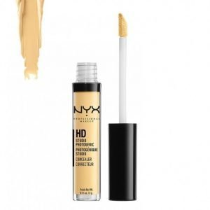 Nyx Professional Makeup Hd Studio Photogenic Concealer Peitevoide Yellow
