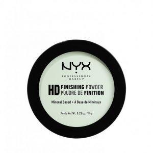 Nyx Professional Makeup High Definition Finishing Powder Puuteri Mintunvihreä