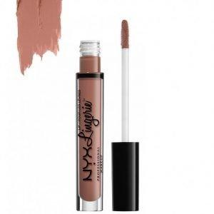 Nyx Professional Makeup Lingerie Liquid Lipstick Huulipuna Cashmere Silk