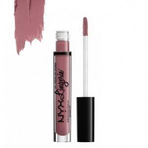Nyx Professional Makeup Lingerie Liquid Lipstick Huulipuna Embellishment