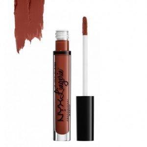 Nyx Professional Makeup Lingerie Liquid Lipstick Huulipuna Exotic