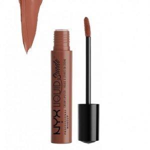 Nyx Professional Makeup Liquid Suede Cream Lipstick Huulipuna Sandstorm