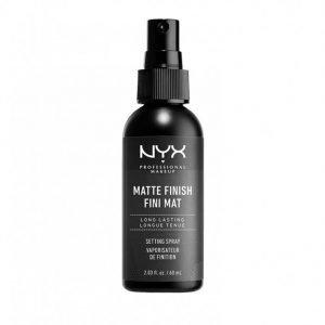 Nyx Professional Makeup Make Up Setting Spray Matte Shine-Free Finish 60 Ml Meikinpohjustusvoide