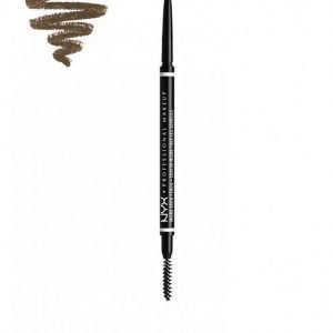 Nyx Professional Makeup Micro Brow Pencil Kulmakynä Ash Brown