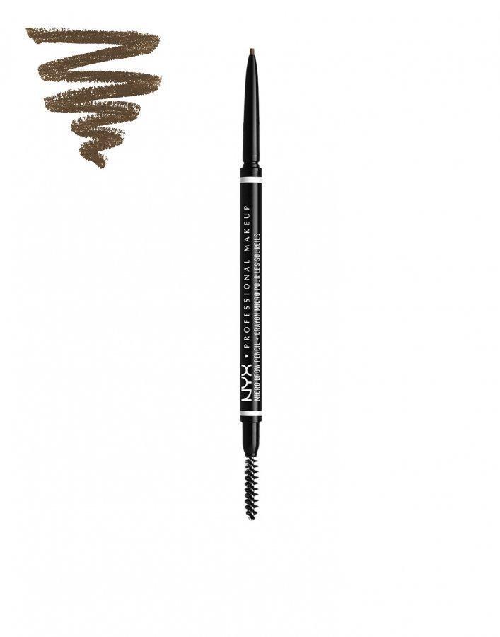 Nyx Professional Makeup Micro Brow Pencil Kulmakynä Ash Brown