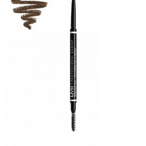Nyx Professional Makeup Micro Brow Pencil Kulmakynä Brunette