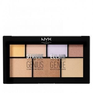 Nyx Professional Makeup Strobe Of Genius Palette Korostuspaletti Multicolor