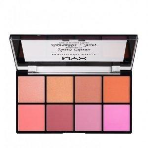 Nyx Professional Makeup Sweet Cheeks Blush Palette Poskipuna Blush