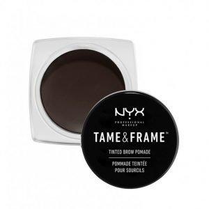 Nyx Professional Makeup Tame & Frame Tinted Brow Pomade Kulmaväri Black