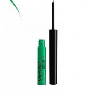 Nyx Professional Makeup Vivid Brights Eyeliner Silmänrajauskynä Envy
