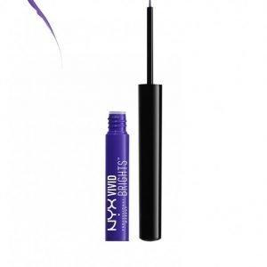 Nyx Professional Makeup Vivid Brights Eyeliner Silmänrajauskynä Violet