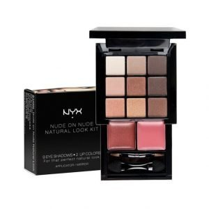 Nyx Set Make Up 109n Nude On Nude Natural Look Kit Meikkipaletti
