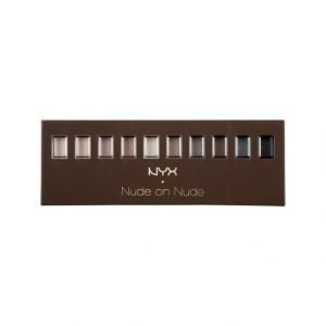 Nyx Set Make Up 119 Nude On Nude Palette Meikkipaletti