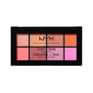 Nyx Sweet Cheeks Blush Palette Poskipunapaletti