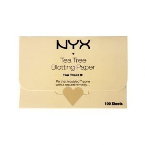 Nyx Tea Tree Blotting Paper Kasvopaperi 100 kpl