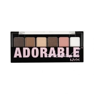 Nyx The Adorable Shadow Palette Luomiväripaletti
