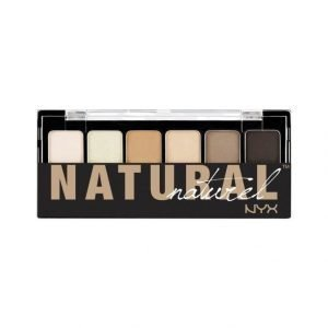 Nyx The Natural Naturel Shadow Palette Luomiväripaletti