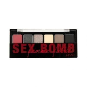 Nyx The Sex Bomme Femme Fatale Shadow Palette Luomiväripaletti