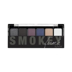 Nyx The Smokey Eye Fume Shadow Palette Luomiväripaletti