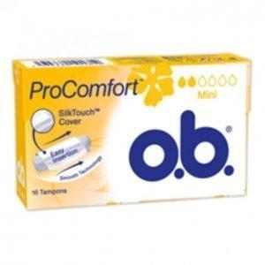 O.B. Procomfort Mini Tamponi 16 Kpl