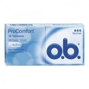 O.B. Procomfort Normal Tamponi 16 Kpl