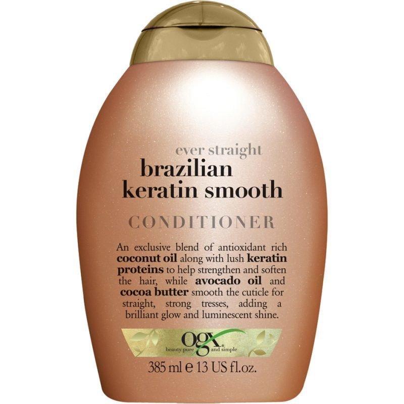 OGX Brazilian Keratin Smooth Conditioner 385ml