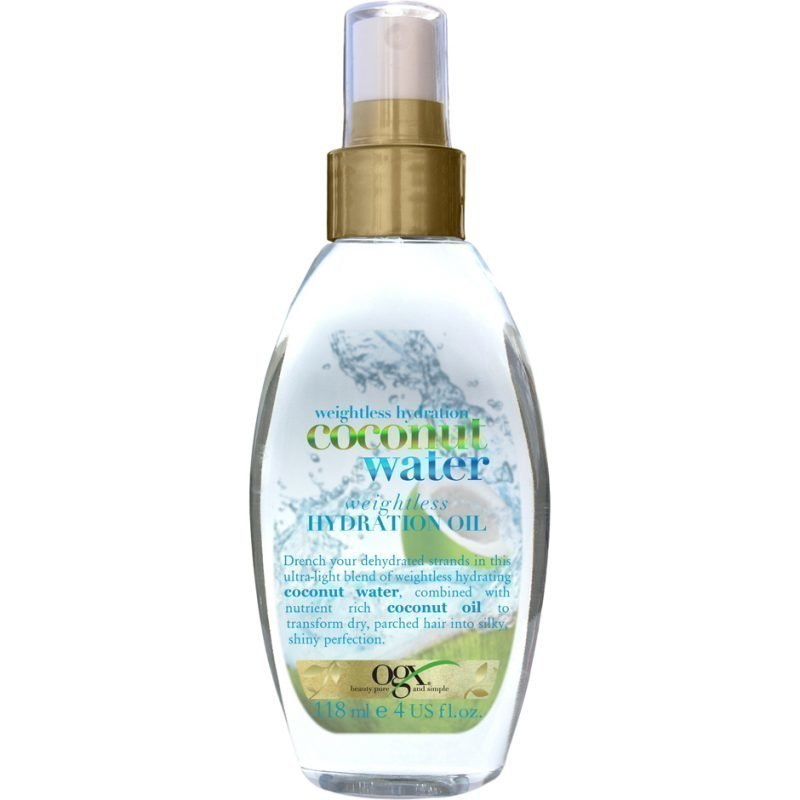 OGX Coconut Water Weightless Hydration Oil 118ml