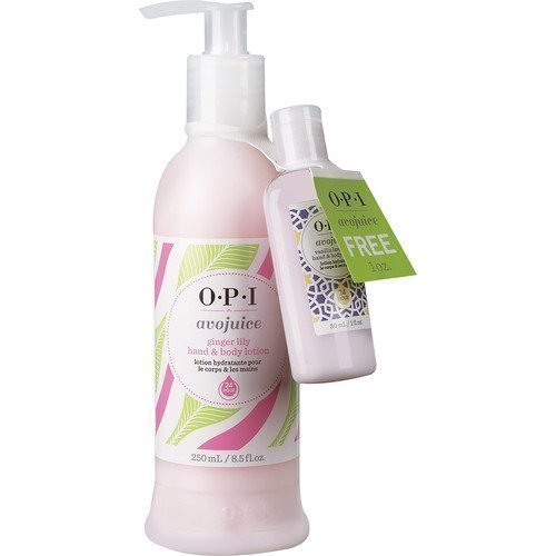 OPI AvoJuice Hand & Body Lotion Ginger Lily Kit