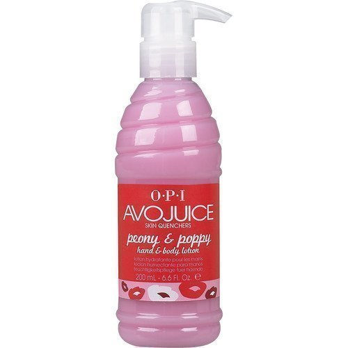 OPI AvoJuice Hand & Body Lotion Peony & Poppy 250 ml