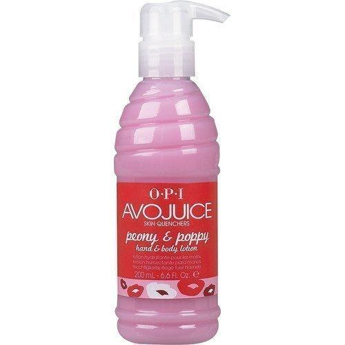 OPI AvoJuice Hand & Body Lotion Peony & Poppy 250 ml