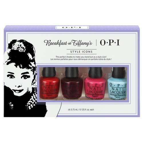 OPI Breakfast At Tiffany's 4 Minis
