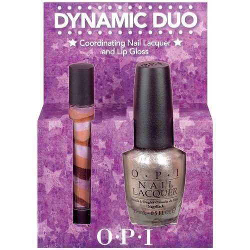 OPI Dynamic Duo Coordinating Nail Lacquer & Lip Gloss Designer de Better!