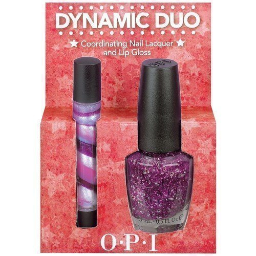 OPI Dynamic Duo Coordinating Nail Lacquer & Lip Gloss Divine Swine