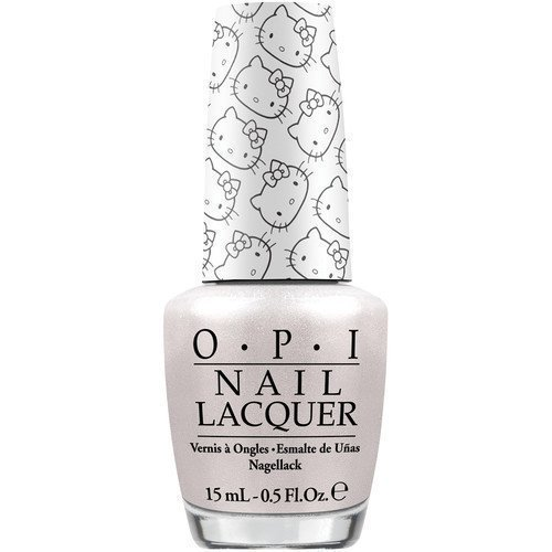 OPI Hello Kitty Kitty White