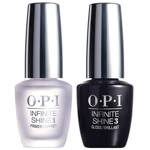 OPI Infinite Shine Top Coat Gloss + Base Coat Primer