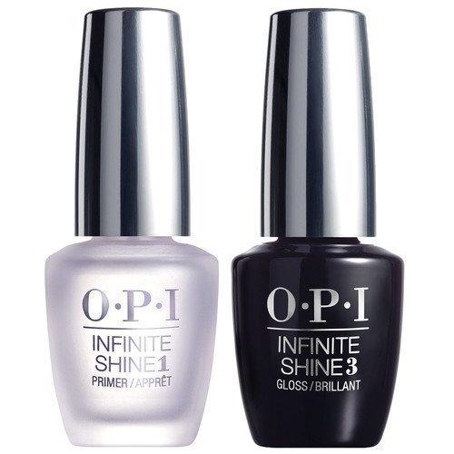 OPI Infinite Shine Top Coat Gloss + Base Coat Primer