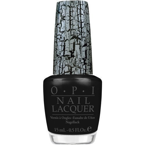 OPI Nail Lacquer Black Shatter