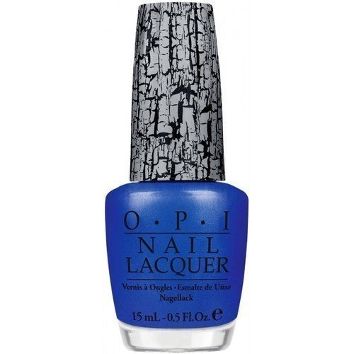 OPI Nail Lacquer Blue Shatter