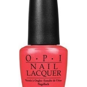 OPI Nail Lacquer I Eat Mainely Lobster