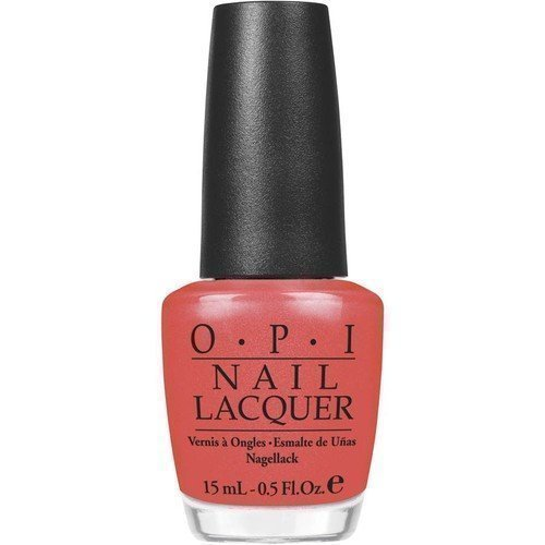 OPI Nail Lacquer I Eat Mainley Lobster