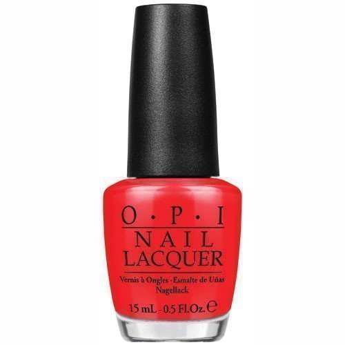 OPI Nail Lacquer I Stop For Red