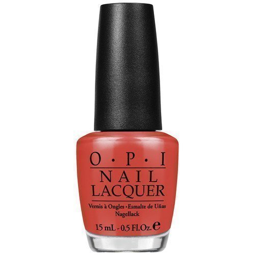 OPI Nail Lacquer My Paprika Is Hotter Than Yours
