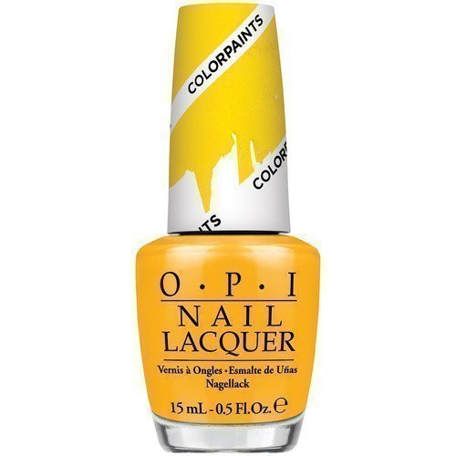 OPI Nail Lacquer Primarily Yellow