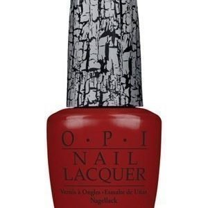 OPI Nail Lacquer Red Shatter