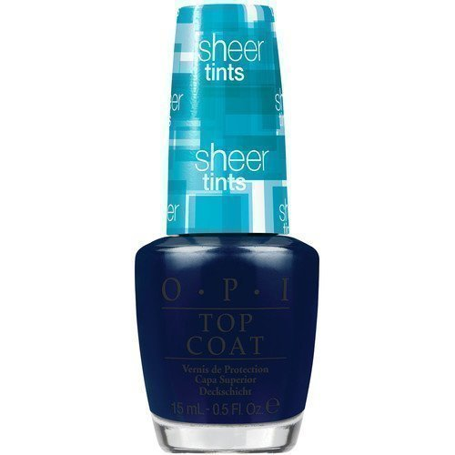 OPI Nail Lacquer Sheer Tints I Can Teal You Like Me