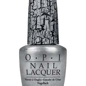 OPI Nail Lacquer Silver Shatter