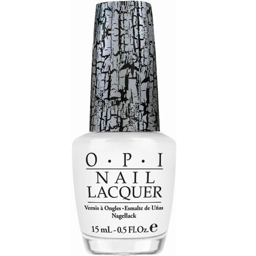 OPI Nail Lacquer White Shatter