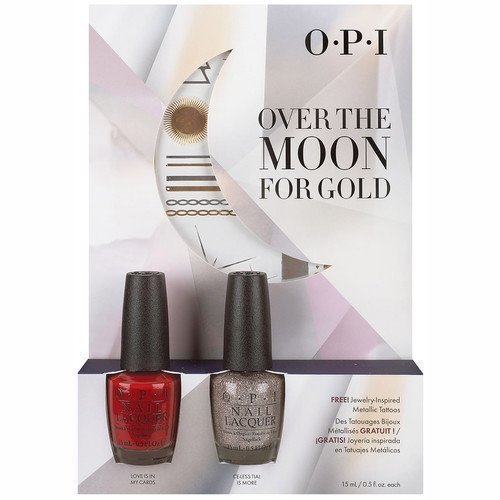 OPI Over The Moon For Gold Kit #1