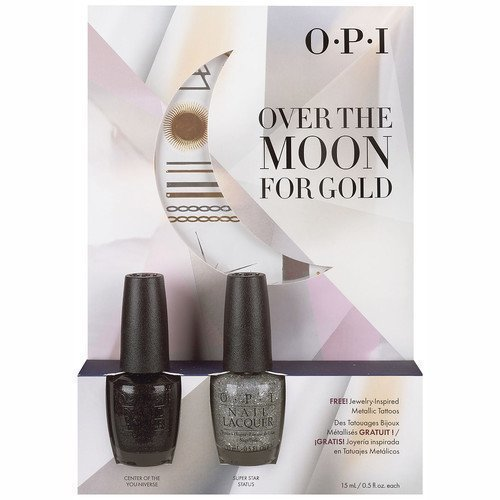 OPI Over The Moon For Gold Kit #2